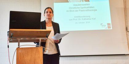 Antrittsvorlesung von Prof. Dr. Katharina Karl