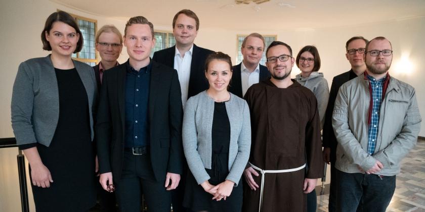 Br. Stefan Walser erhält Habilitationsstipendium in Paderborn