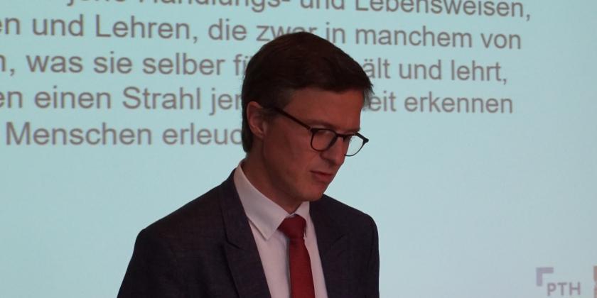 Vortrag von Prof. Dr. Stephan Winter