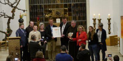 Ein Beispiel für jede Gemeinde:  Der Kapuziner Klostergarten Münster erhält Auszeichnung der UN-Dekade Biologische Vielfalt  durch Bundesumweltministerin Svenja Schulze